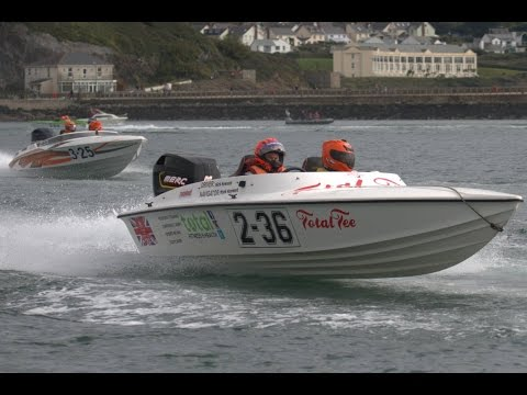 Start run of the OCRDA Powerboat race Sunday 09th October 2016  @ Plymouth