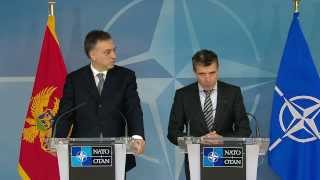 NATO Secretary General with President of Montenegro - Joint Press Point