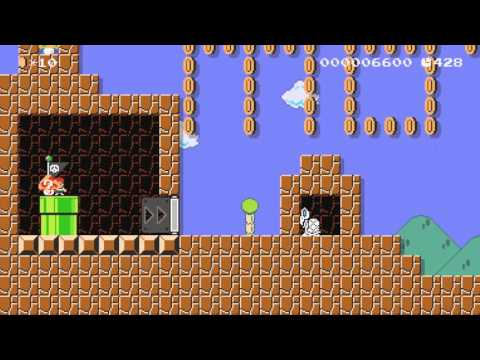 Super Mario Maker - MOTHER/Earthbound Hometown Tribute