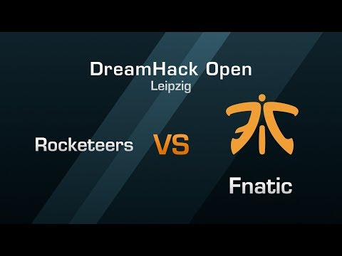Rocketeers vs Fnatic - Group C Round 1 - DreamHack Open Leipzig 2018