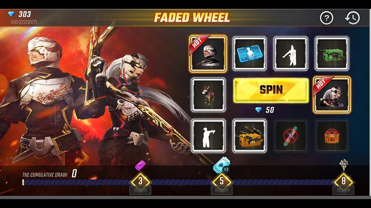 FADED WHEEL Event In Free Fire Full Details|| Top Up 600