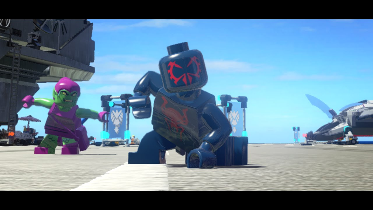 LEGO Marvel Superheroes - Spider-Man 2099 (MOD) - YouTube