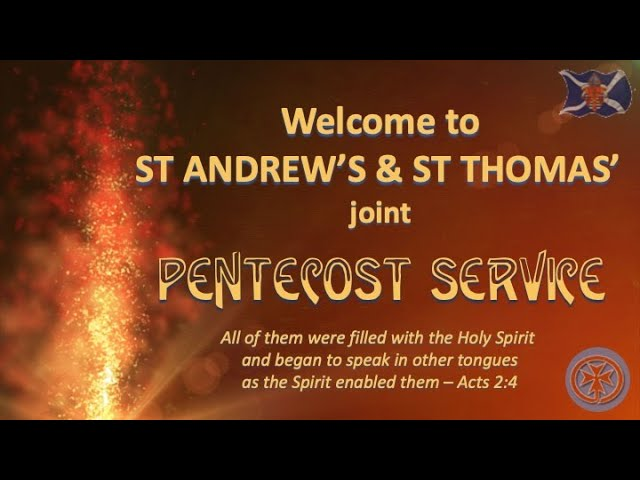 Pentecost Service - 29th May 2020