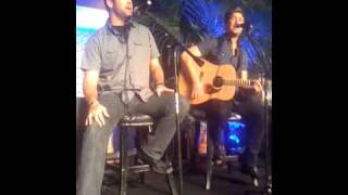 "Matt Rogers & Bryon Bos perform ""Coming Home"" theme song at NAPTE Innovator Awards, 6-10-11"