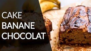 Cake banane et chocolat - Recette Healthy