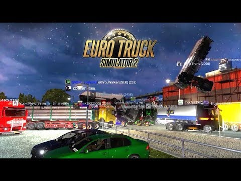 BEST OF Euro Truck Simulator 2 Fails & Funny Moments |