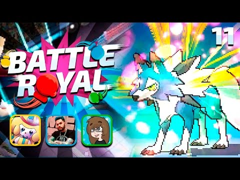 RED VS BLUE - Pokemon Sun and Moon WiFi BATTLE ROYAL #011 w/ AceTrainerLiam, SleepyJirachi & Yoehn!