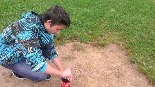 Cola fontäne geht daneben Teil 3