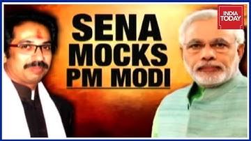 "BJP Slams Shiv Sena's 'Sarcastic' Saamana Piece On ""Kill PM Plot"""