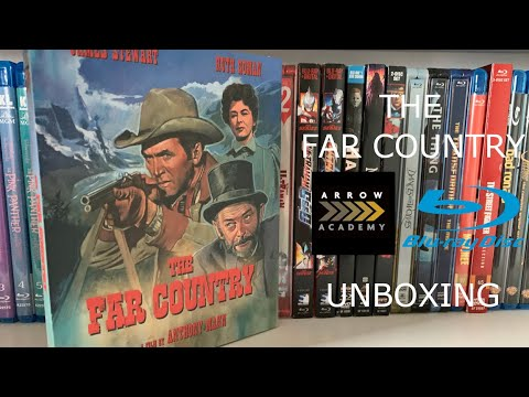 The Far Country Arrow Academy Blu Ray Unboxing