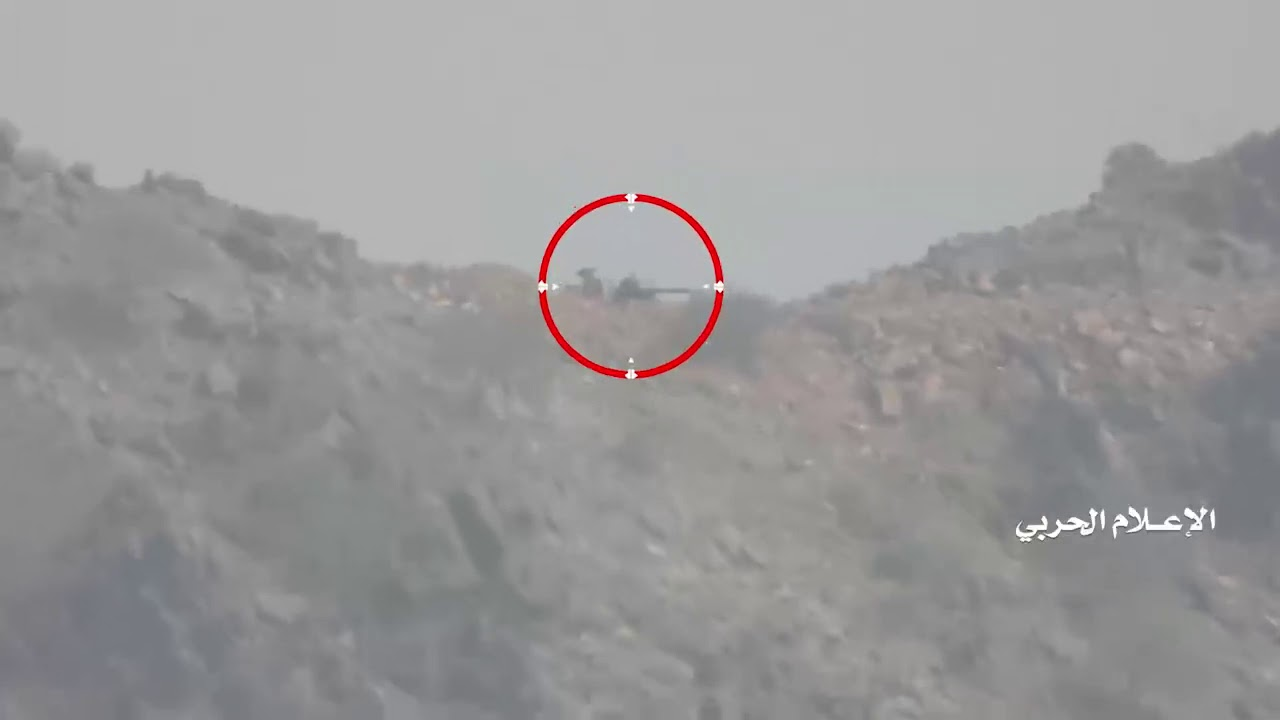 "Yemeni forces fire two missiles ""Zelzal-1"", destroy machine gun""37"" with guided"