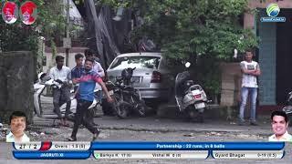 JAGRUTI XI VS VARAD V NAVI MUMBAI MATCH    L.D.R PATIL & BHOLANATH PATIL CHASHAK 2019    TURBHE