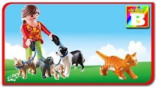 Playmobil in Romana   Catelusiii si pisica    Bogdan's Show
