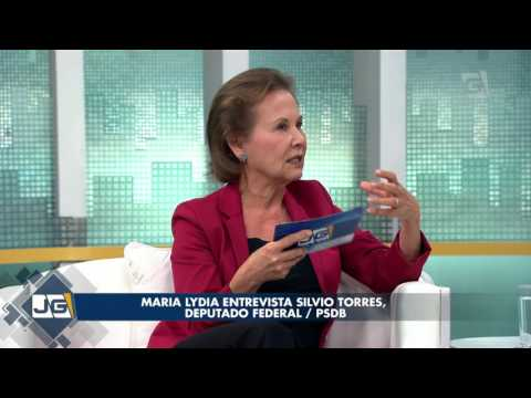 Maria Lydia entrevista Silvio Torres, deputado federal/ PSDB