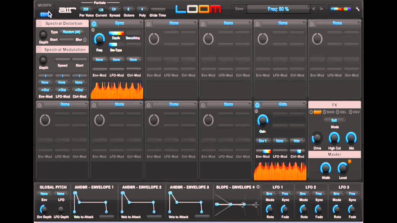 AIR Loom Review: Spectral Modules and Basic Modules