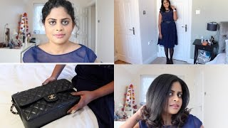 High tea with friends || Full face makeup, hair, What's in my bag and OOTD Thumbnail