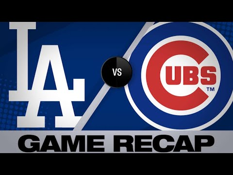 4/23/19: Cubs jump on Dodgers early, cruise to win