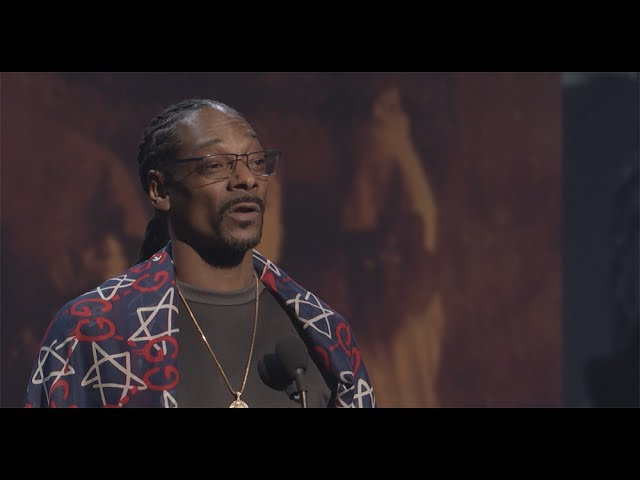 Snoop Dogg Inducts Tupac Shakur into the Rock & Roll Hall of Fame - 2017 #1