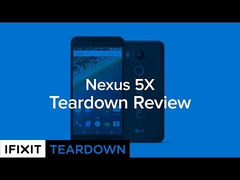 Teardown: Google Nexus 5X ist recht einfach zu reparieren