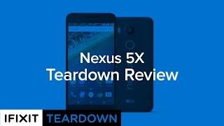 الهاتف LG Nexus 5X أسهل نسبيا للإصلاح، وفقا لـ iFixit