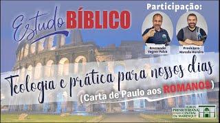"""Estudo Bíblico - Teologia e prática para nossos dias - """"Moralismo"""""""