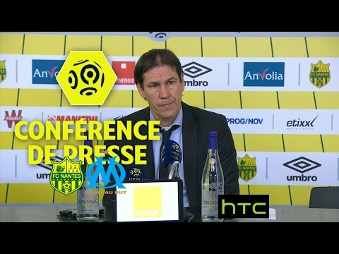 Conférence de presse FC Nantes - Olympique de Marseille (3-2) - Ligue 1 / 2016-17