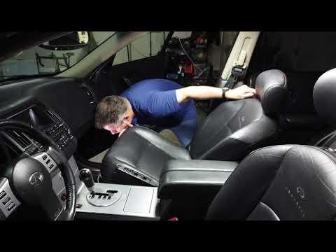 Repair Infiniti Power Seat in an hour for $14