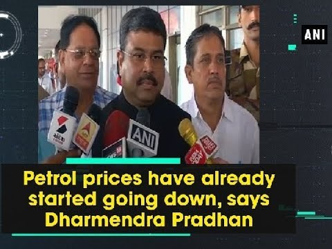 Petrol prices have already started going down, says Dharmendra Pradhan - Gujarat News