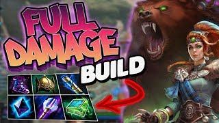 Smite: Full Damage Artio Build - THIS GOD IS SO BROKEN OH MY!