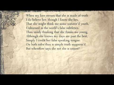 Sonnet 138: When My Love Swears That She Is Made Of Truth
