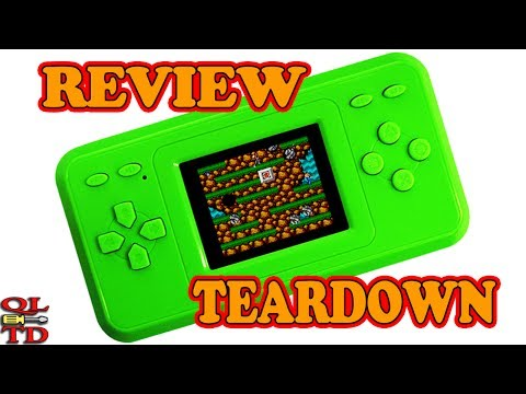 CoolBoy Handheld NES/FAMICOM Clone with Built-in 298 Games, review & teardown