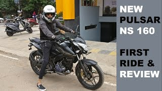 Bajaj Pulsar NS160 – First Ride and Detailed Review | FANTASTIC POCKET ROCKET