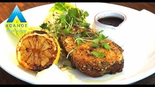 Slow Cooked Parmesan, Lemon And Rosemary Crusted Pork From Ajay Barak
