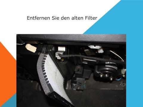 Repeat so ersetzen sie den innenraumfilter auf einem volvo for Interieur filter