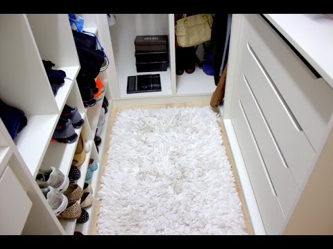 Tour pelo meu closet dicas para ambientes pequenos youtube for Modelos de closets para dormitorios pequenos