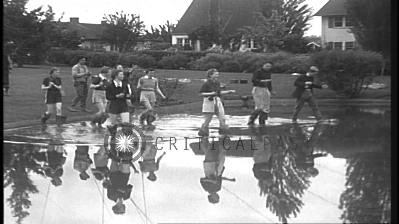 Girls practice fishing during a summer camp in eugene for Fishing summer camp