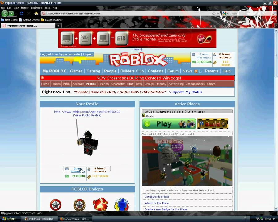 ROBLOX Tix and ROBUX hack 100% Works 2011 [NEW] - YouTube