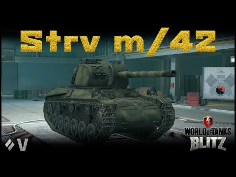 Обзор Strv M/42 [WoT Blitz 6.9]