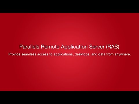 What Is Parallels Remote Application Server (RAS)?