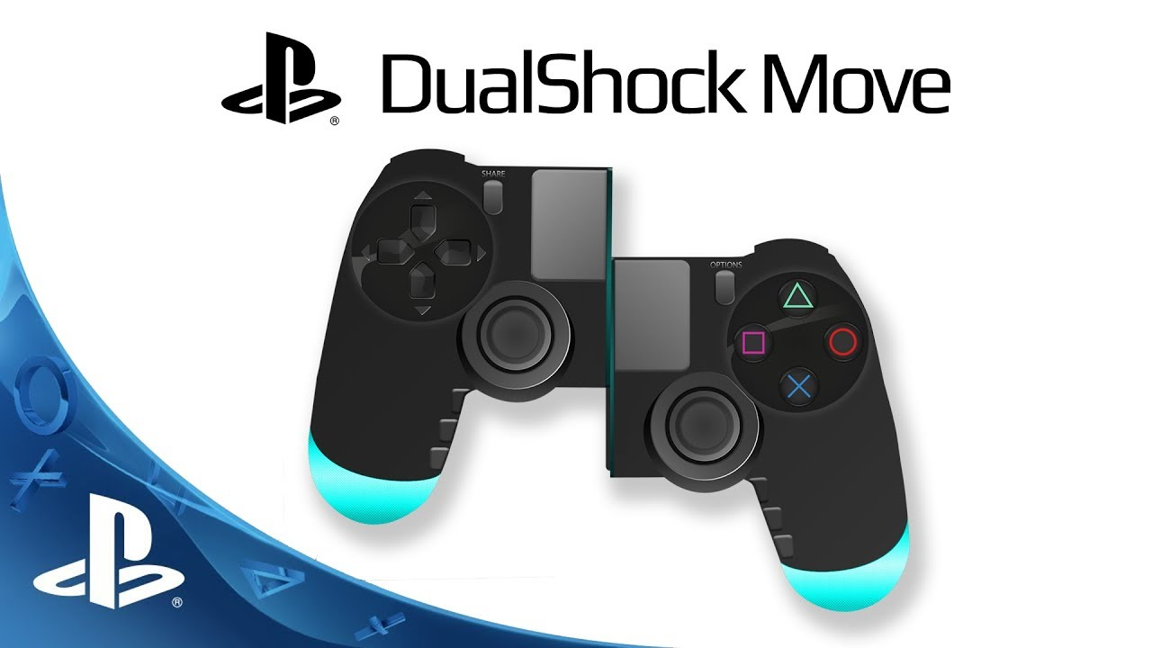 dualshock move playstation 5 controller concept youtube