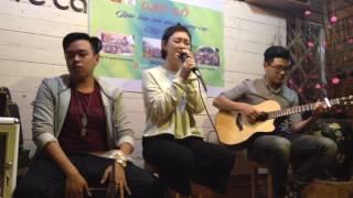 Thu Cạn - Quỳnh Tròn ft Cajon Đỗ Tuấn Đạt ft Guitar Hoàng Thanh Quân (Cover)