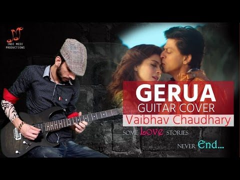 Gerua | Powerful Electric Guitar Cover | Vaibhav Chaudhary Song | BEROCK Video