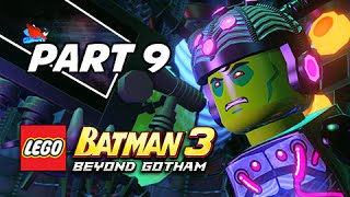 Lego Batman 3 Beyond Gotham Walkthrough Part 9 - The Lantern Menace (Lets Play Commentary)