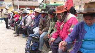 Compartir de recursos - Ocongate, Cusco