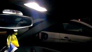 Замена салонного света на светодиодный Шевроле Круз