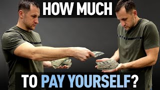 How much to pay yourself in Roofing Business? Roofing School