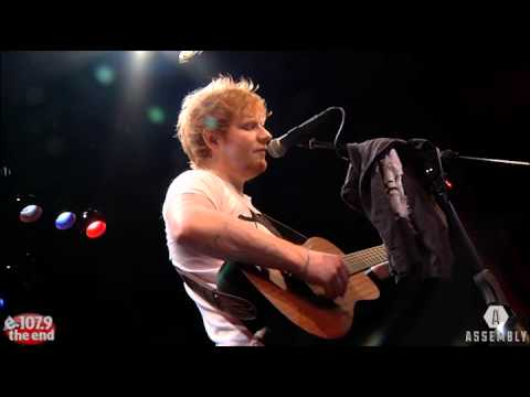 Ed Sheeran - Give Me Love LIVE in...