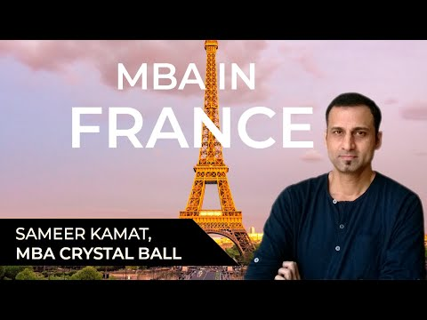MBA in France for international students