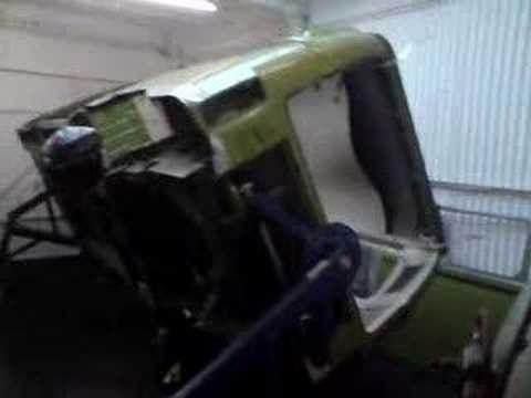 Type 2 VW Bay Window Camper - Body roll