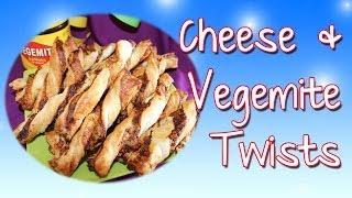 Cheese and Vegemite Twists
